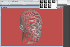 Facial Studio - Applying different expressions