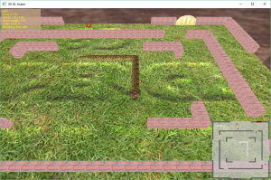 OpenGL 3D Sanke Game